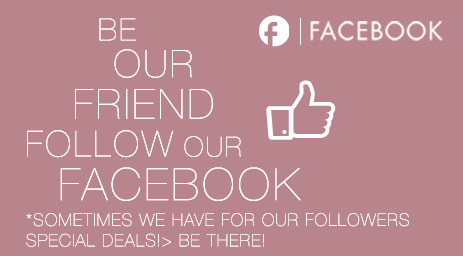 Be Our facebook friend