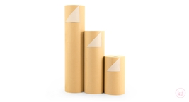 Wrapping Paper Brown Kraft / Backside White