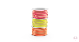 Luxe Lint Neon Edge Ribbon 6 mm