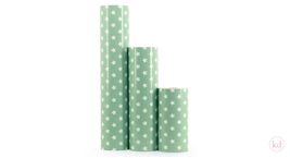 Wrapping Paper Stars Mint