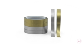 Masking Tape Plain Gold / Zilver