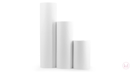 Wrapping Paper Snow White / 90 grs White Kraft Paper