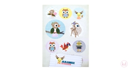 Sticker Sheets Jojojanneke Pastel
