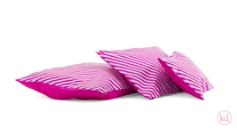 Shipping Bags Stripes Neon Pink