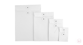Paper Gift Envelope White