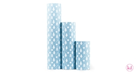 Wrapping paper Eef Lillemor christmas cookies blue