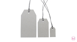 Greyboard Paper Tags