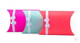 Pillowbox with ribbon Large
