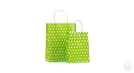 Paperbag Toptwist Little Dots Apple