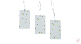Paper Tags Hand Drawn Dots