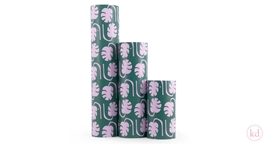 Wrapping Paper Jessica Nielsen Monstera Green/Pink