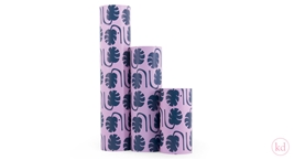 Wrapping Paper Jessica Nielsen Monstera Pink/Blue