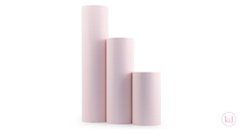 Wrapping Paper Tall Grid Soft Pink