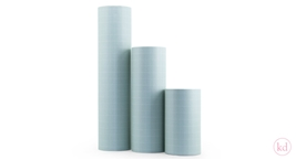 Wrapping Paper Tall Grid Sage Green