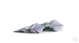 Flatbags Jessica Nielsen Monstera Green / Pink