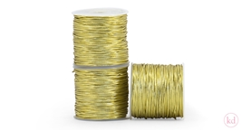 Elastic Band Round Gold