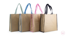 Paper Shopper with Non Woven inside Medium