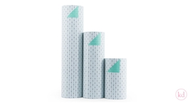 Wrapping Paper the Birds and the Bees Arrow Mint