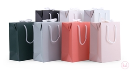 Paperbox / Bag met strik Large