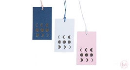 Papertags moon phases