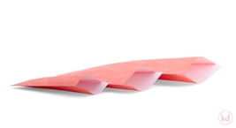 Flachbeutel Origami Boat Sunset Orange