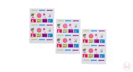 Sinterklaas Stickers on sheets Jojojanneke