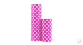 Kadopapier Medium Dots Neon Pink