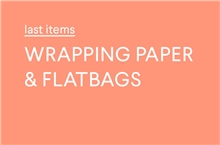 Wrappingpaper & Flatbags