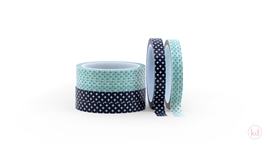 Masking Tape Crossed Black/Mint
