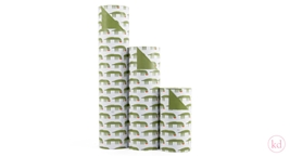 Wrapping Paper Jessica Nielsen Crocodile