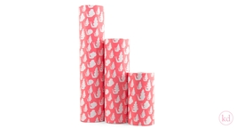 Wrapping paper Jessica Nielsen Snail Neon Orange