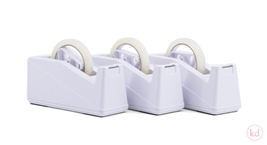 Tape dispenser large white