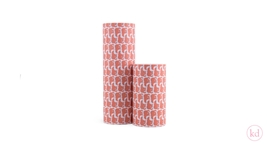 Wrapping paper Geertje Aalders grizzly bear rust
