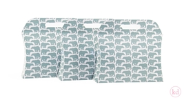 Pillow box Geertje Aalders grizzly bear sage green