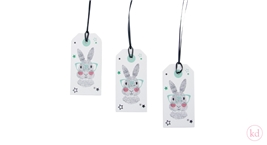 Paper Tags Sparkling Paper Mister Rabbit