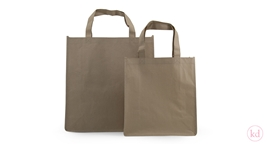 Paperbag with Cotton Lines Kraft
