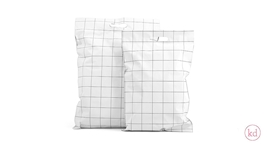 Shipping Bags Grid with handle