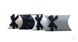 Pillowbox with Black Ribbon