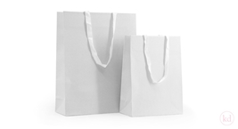 Paperbag with cotton handles