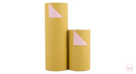 Wrapping Paper Soft Caramel / Soft Pink