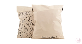Shipping Bags Terrazzo Love to give! Large