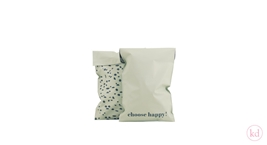 Shipping Bags Terrazzo Choose happy! Small