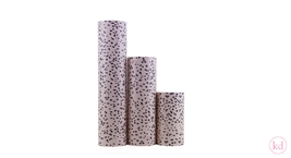 Wrapping Paper Terrazzo Soft Pink / Dark Blue