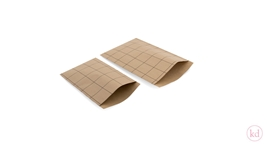 Flatbags Grid Kraft / Black