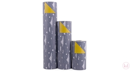 Wrapping paper Wold Little treasures - Stone blue