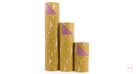 Wrappingpaper Wold Little treasures - Ocher Yellow