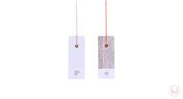Paper Tags Tinne+Mia Large