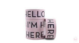 Tape Hello Im Here Nude