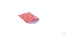 Flatbags Happy Stripes Sporty Red / Lavender