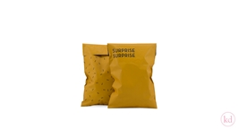 Shipping Bags Surprise Small Ochre